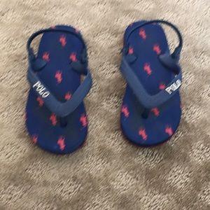 Ralph Lauren Boys flip flops